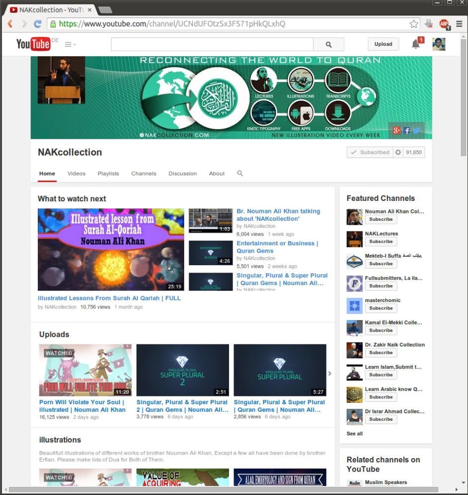YouTube NAK